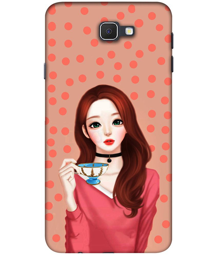 Samsung Galaxy J7 Prime Printed Cover By Clarks