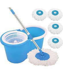 Spindry Easy Mop MAGIC MOPS Double Bucket Mop MAGIC MOPS,MOPS