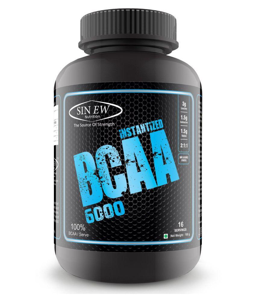 Sinew Nutrition Instantized BCAA 2:1:1, 100 gm
