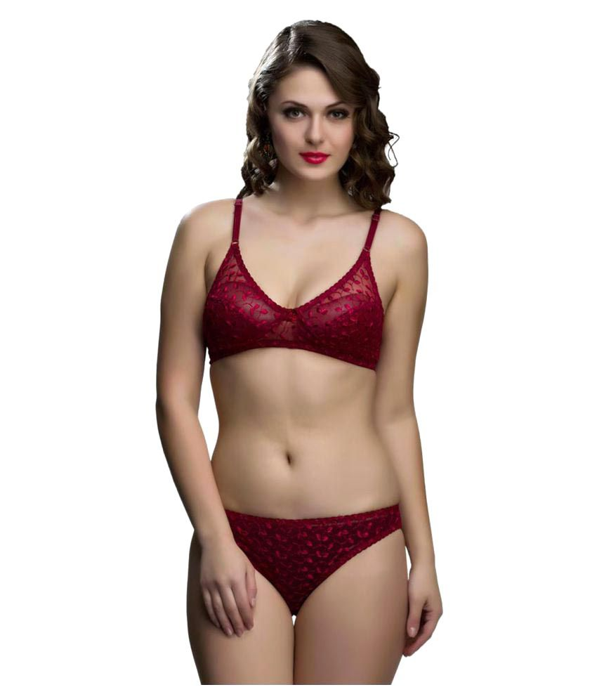 527b0976983 Buy College Girl Lace Bra and Panty Set Online at Best Prices in India -  Snapdeal