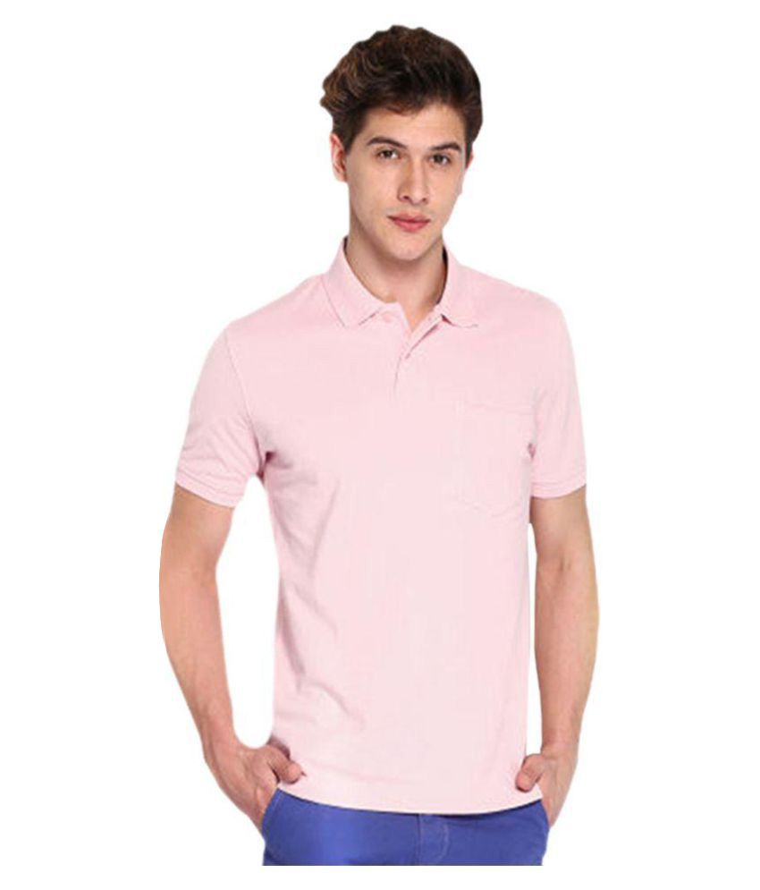 concepts pink slim fit polo t shirt buy concepts pink. Black Bedroom Furniture Sets. Home Design Ideas