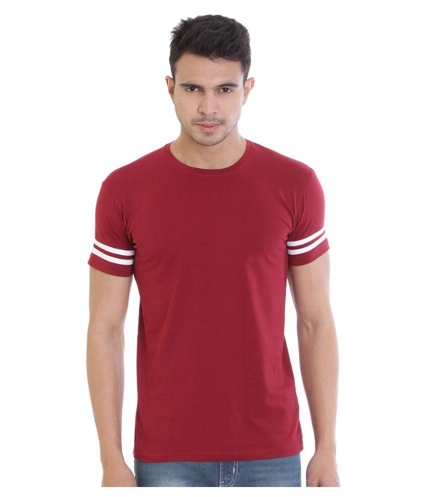 Rocx Red Round T-Shirt