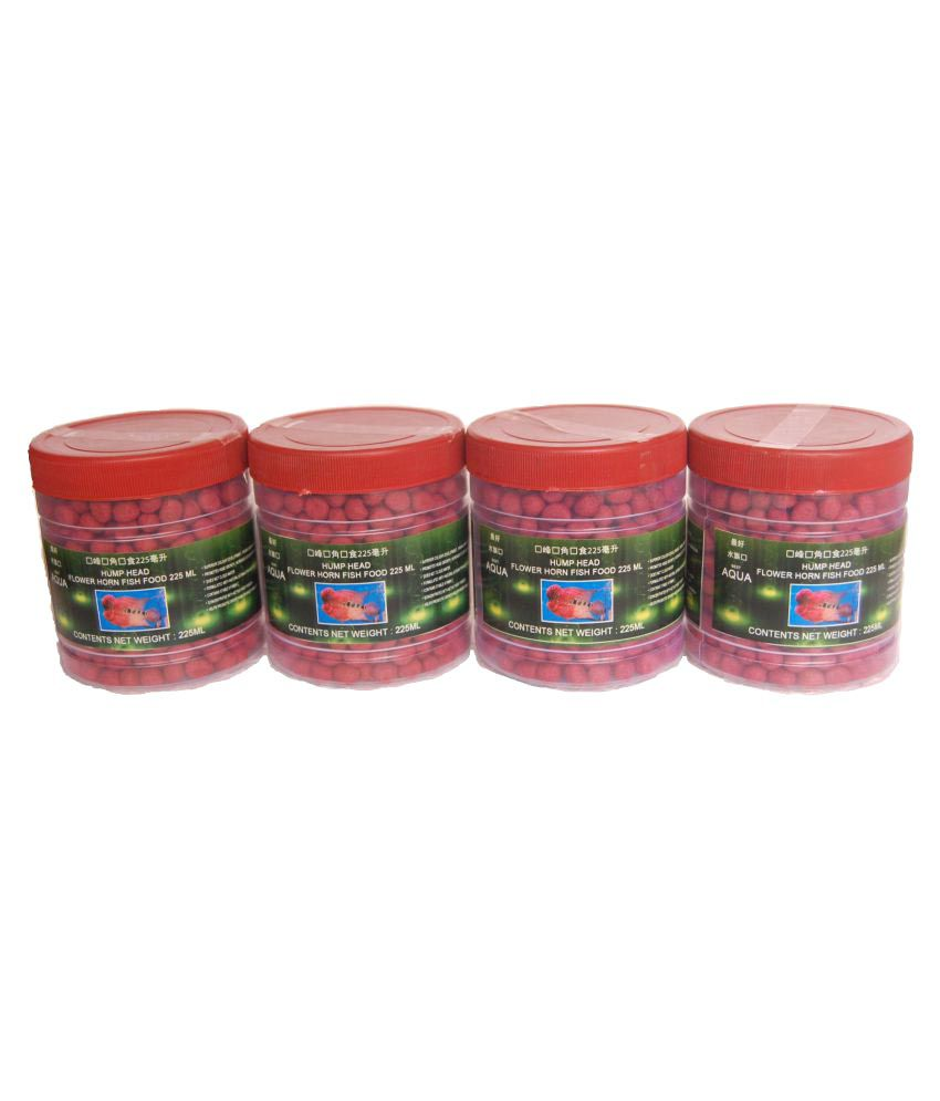 Aqua Flowerhorn Fish Food Dry 100 gm - 500 gm: Buy Aqua Flowerhorn ...
