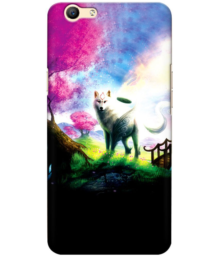 Oppo F3 Printed Cover By CRAZYINK