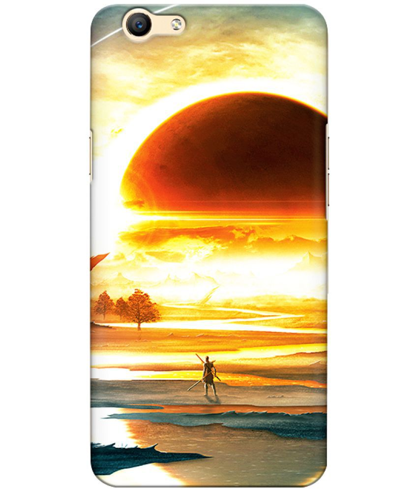 Oppo R9 Plus Printed Cover By CRAZYINK