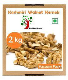 KASHMIRI Shelled Walnuts (Akhrot) Premium 2 Kg Pack Of 8
