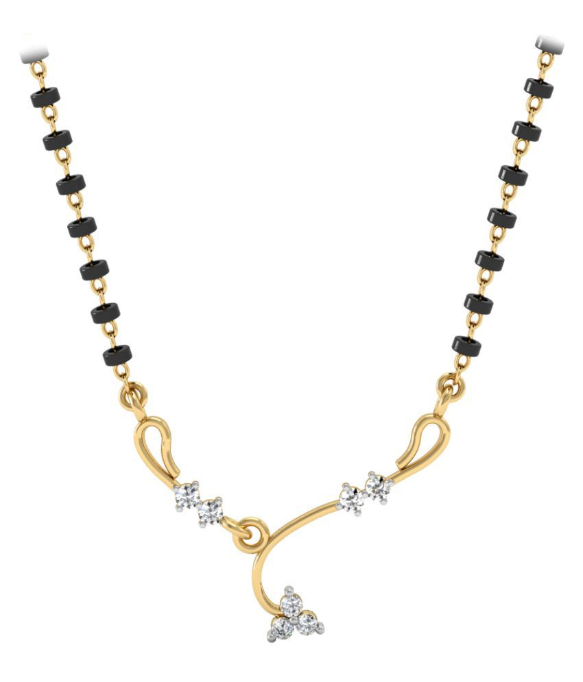 Vachya 18k Gold Diamond Mangalsutra