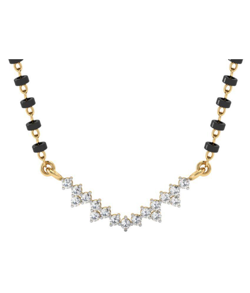 Vachya 18k Gold Diamond Mangalsutra