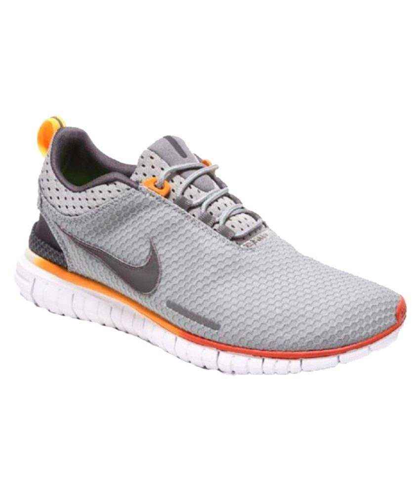 056efd03ec141 Nike Free OG Breathe Gray Training Shoes - Buy Nike Free OG Breathe Gray  Training Shoes Online at Best Prices in India on Snapdeal