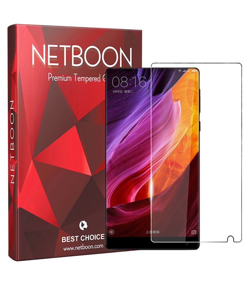 Xiaomi Mi MIX Tempered Glass Screen Guard By Netboon