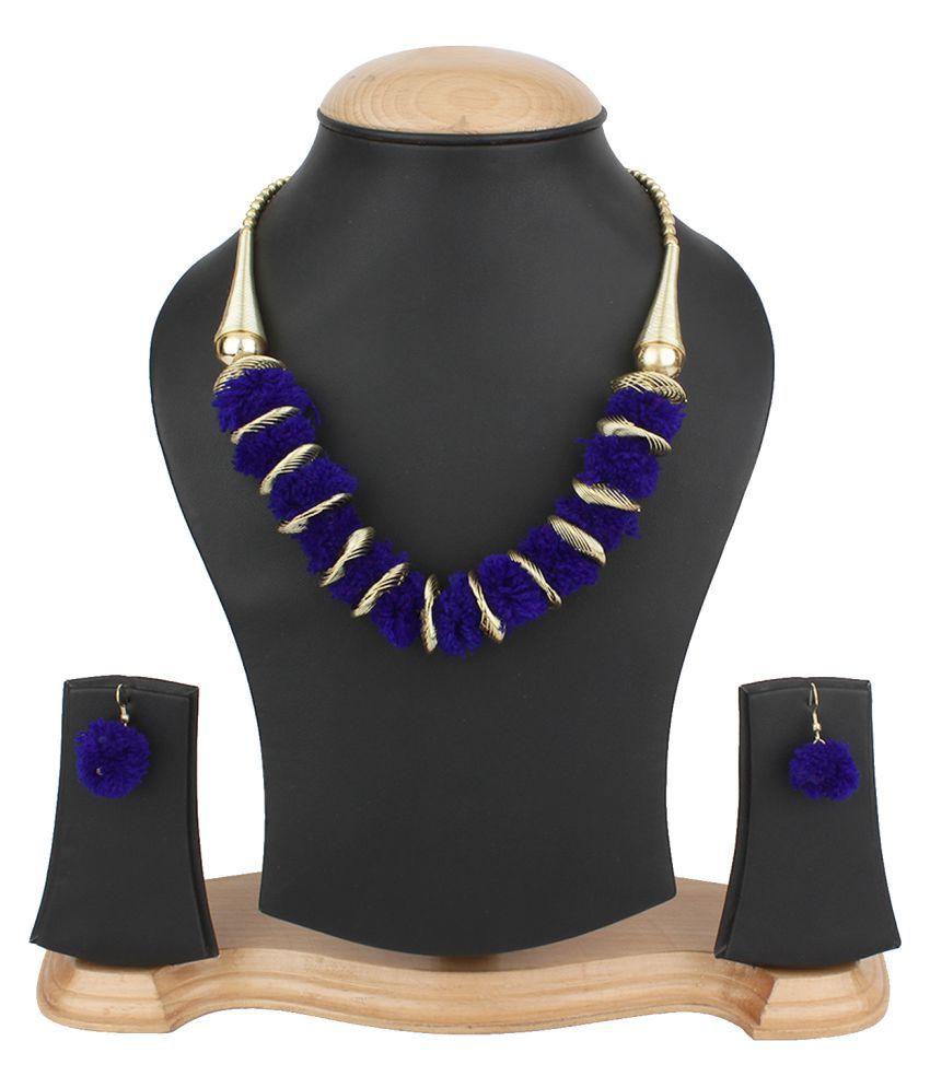 Penny Jewels Imitation Fashion Designer Latest Comfy Necklace Set For Women & Girls