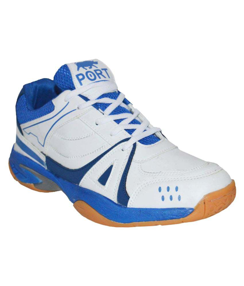 Port Active White Indoor Court Shoes Snapdeal Rs. 1349.00