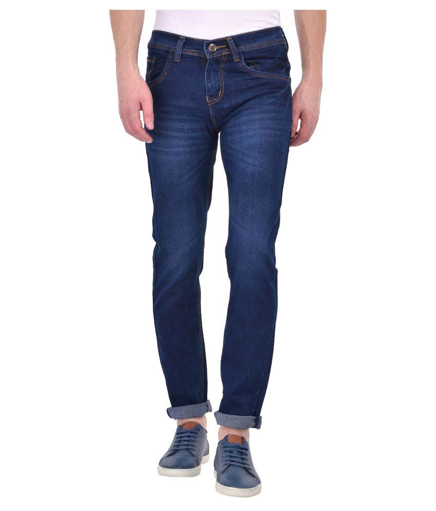 X-Cross Dark Blue Slim Jeans