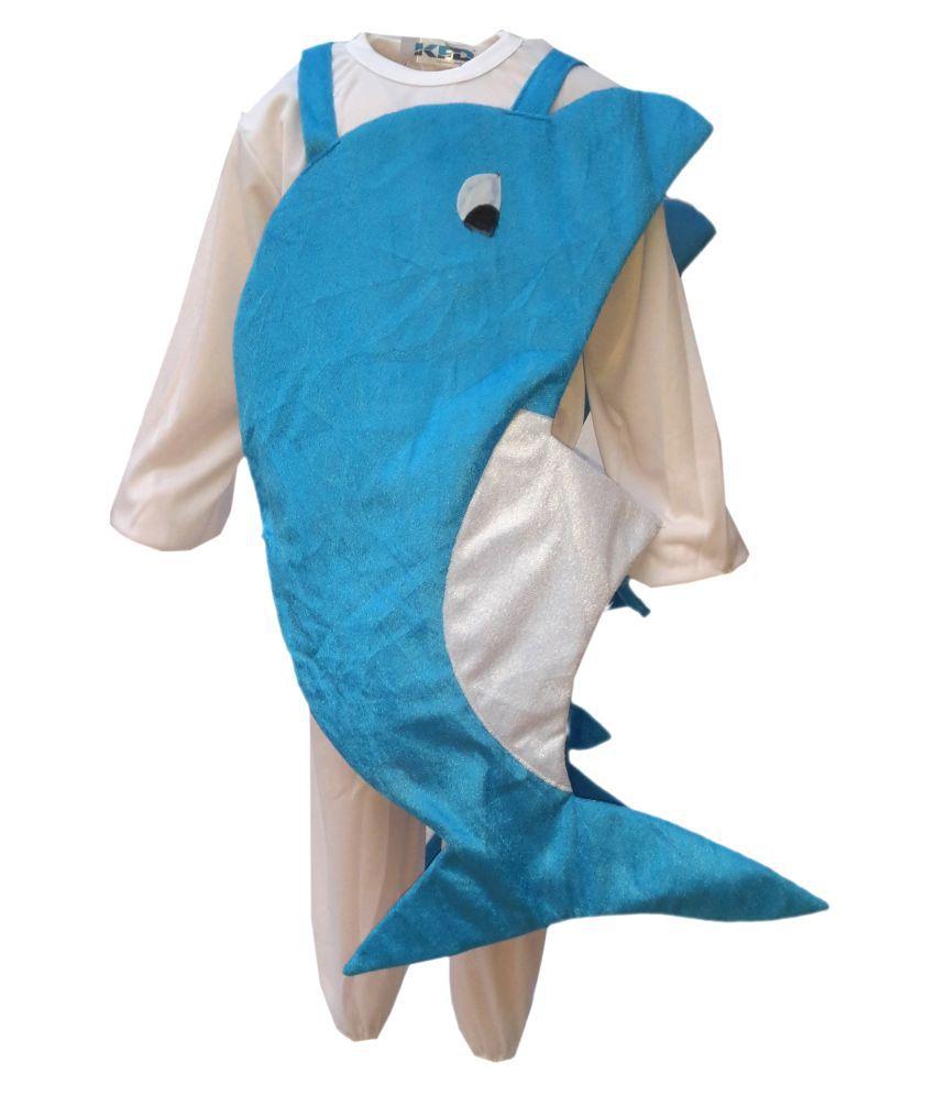 KFD Dolphin fancy dress for kids,Water Animal Costume for School ...
