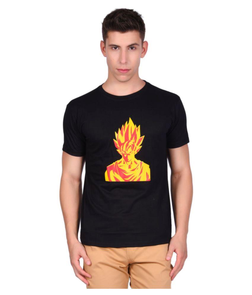 Libey Black Round T-Shirt