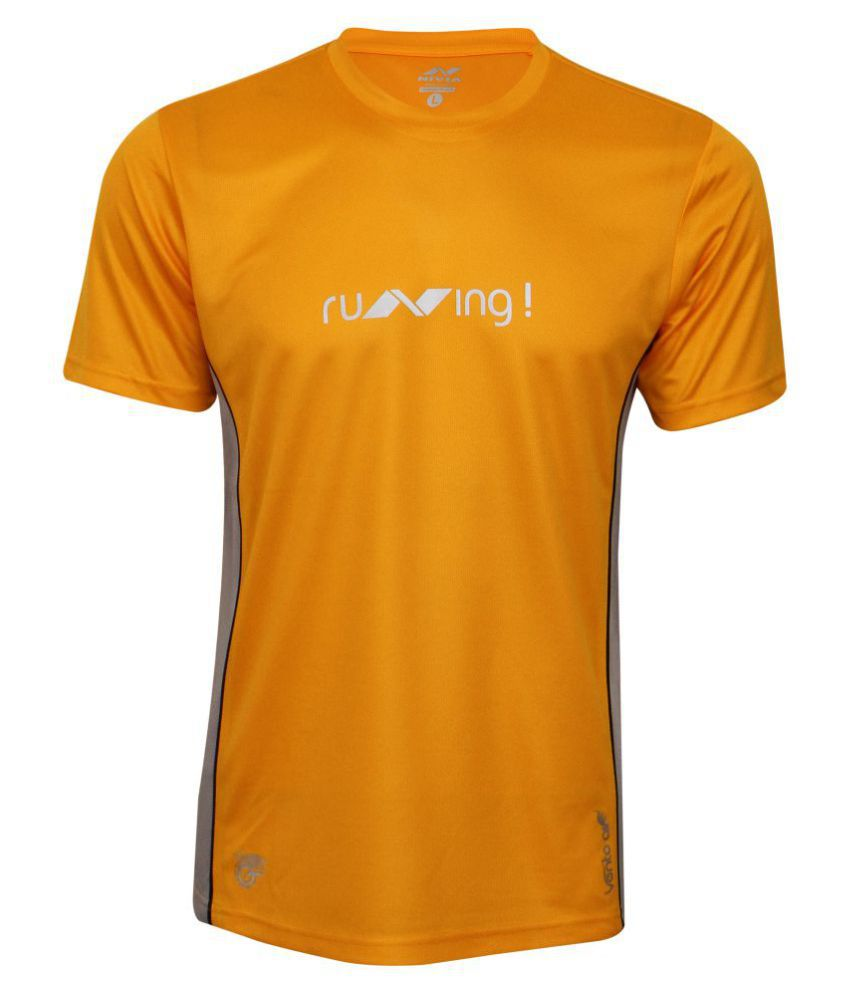 NIVIA OXY -2 FITNESS TEE ( Yellow)