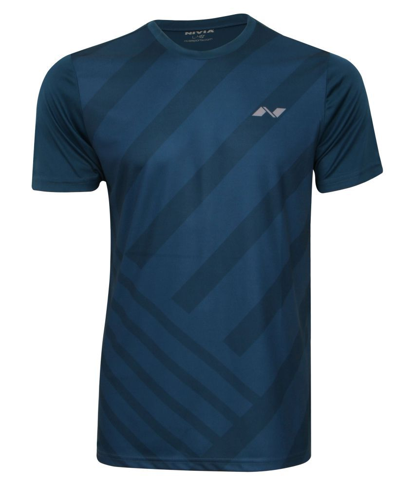 NIVIA CITY ROUND SUBLIMATION TEE SB-1( ROYAL BLUE)