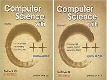 Computer Science With C++ For Class 12 Paperback (English) Set Of 2 Volumes