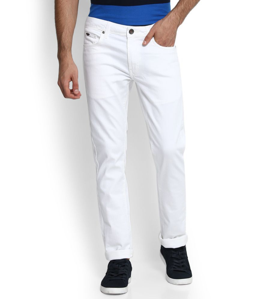United Colors of Benetton White Skinny -Fit Jeans