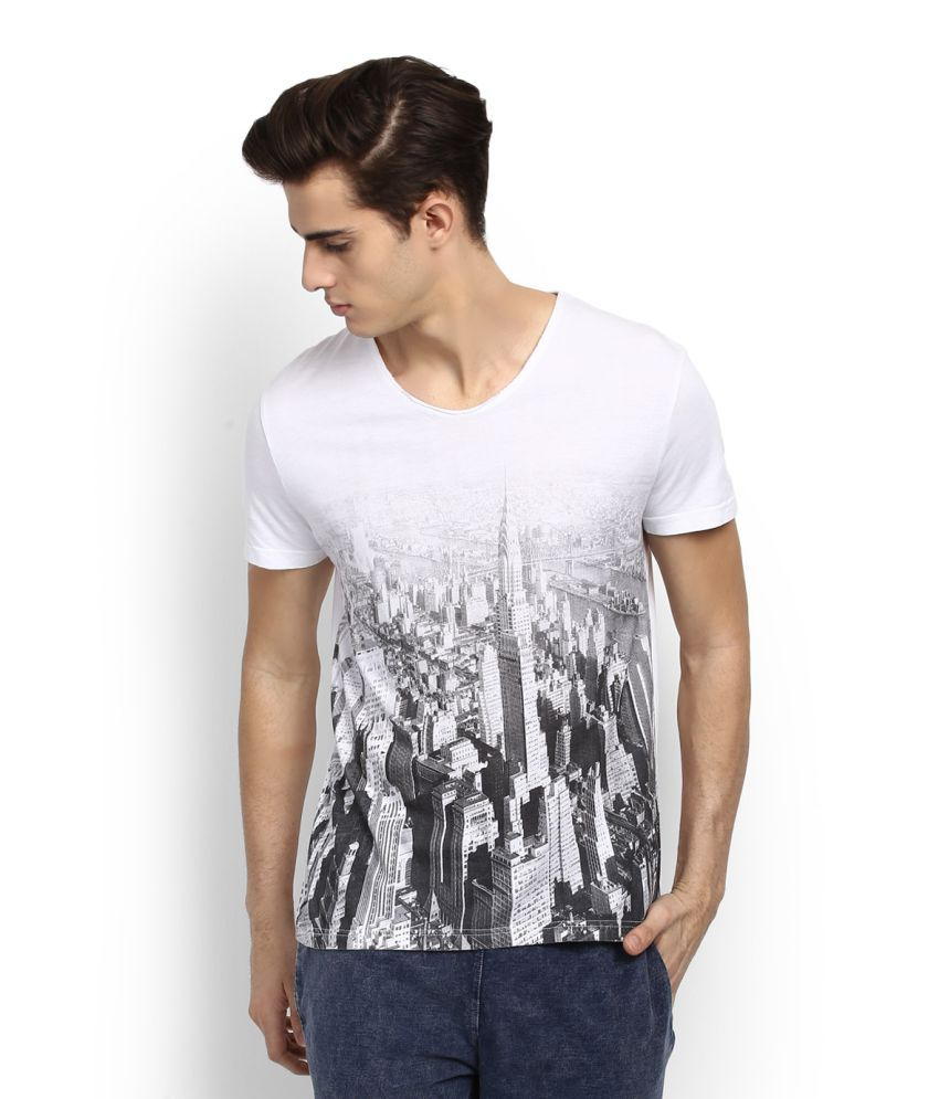 People White Round T-Shirt