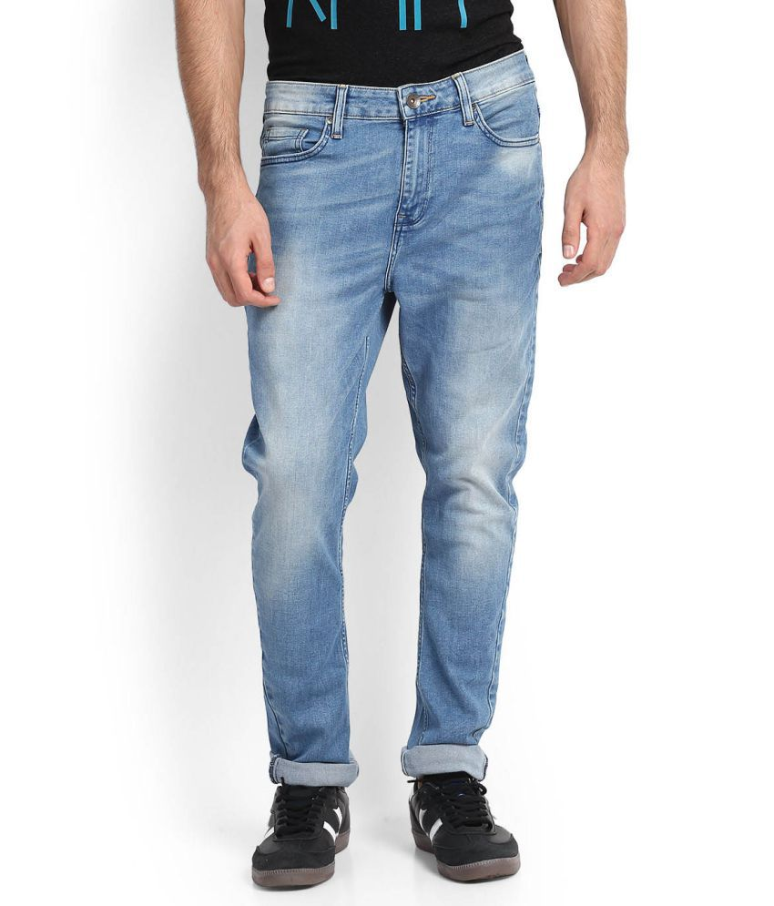 United Colors of Benetton Blue Slim -Fit Jeans