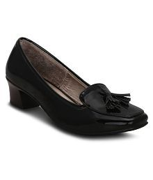 Get Glamr Black Formal Shoes
