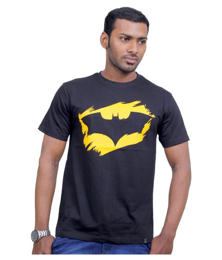 Indian Aurochs Black Round T-Shirt