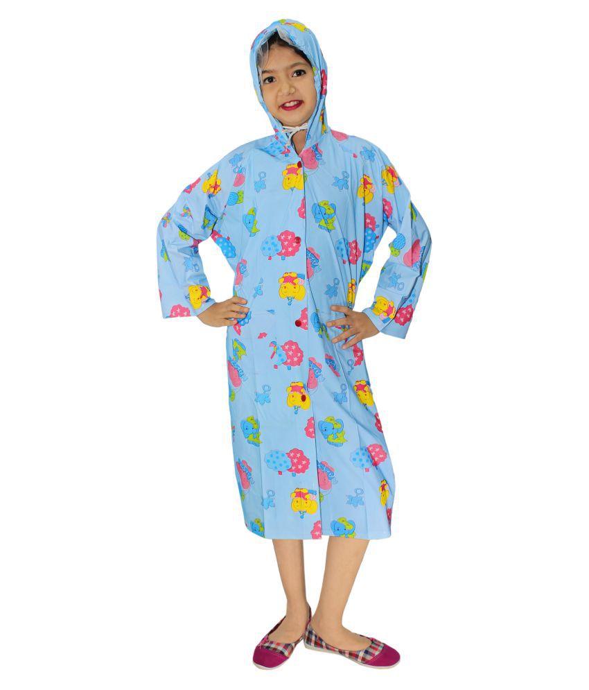 Goodluck Unisex Full Sleeve Raincoat