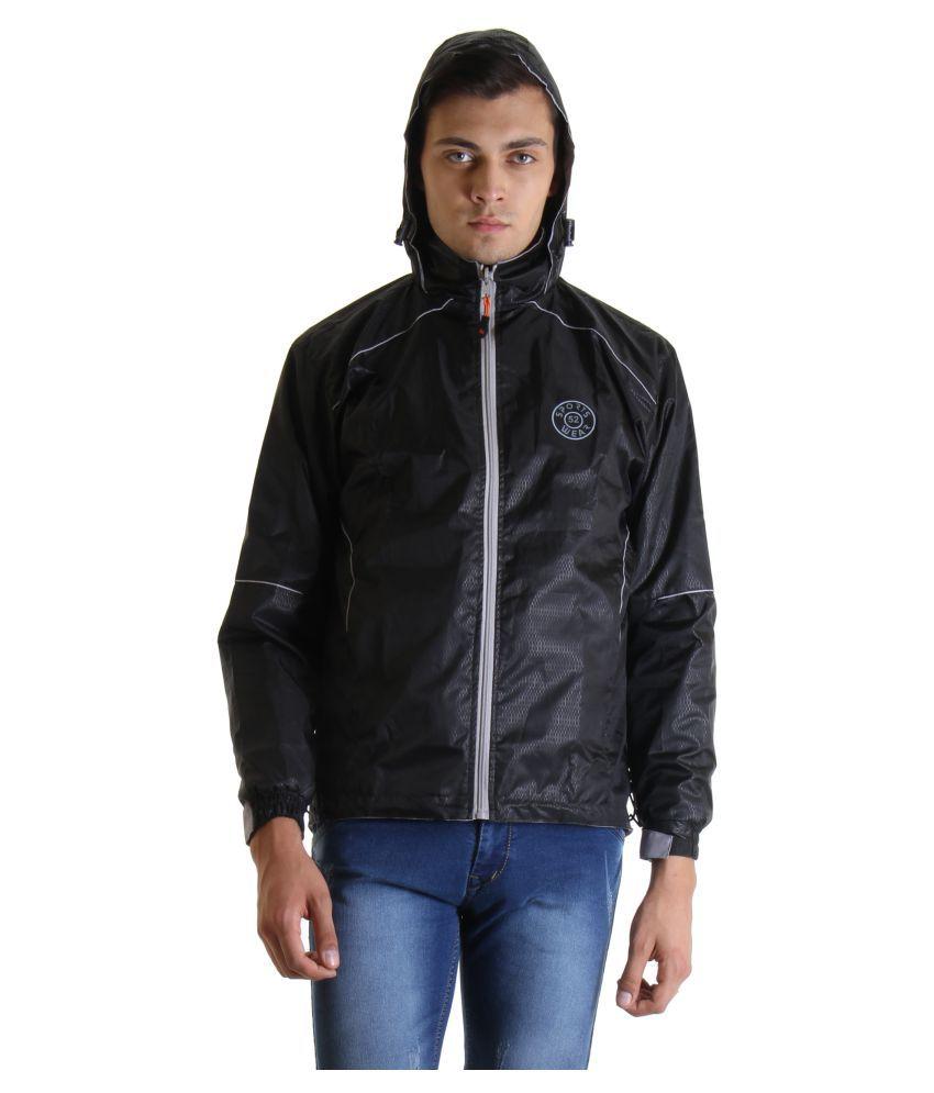 Sports 52 Wear Black Rain Coat - Buy Sports 52 Wear Black Rain Coat Online at Best Prices in ...