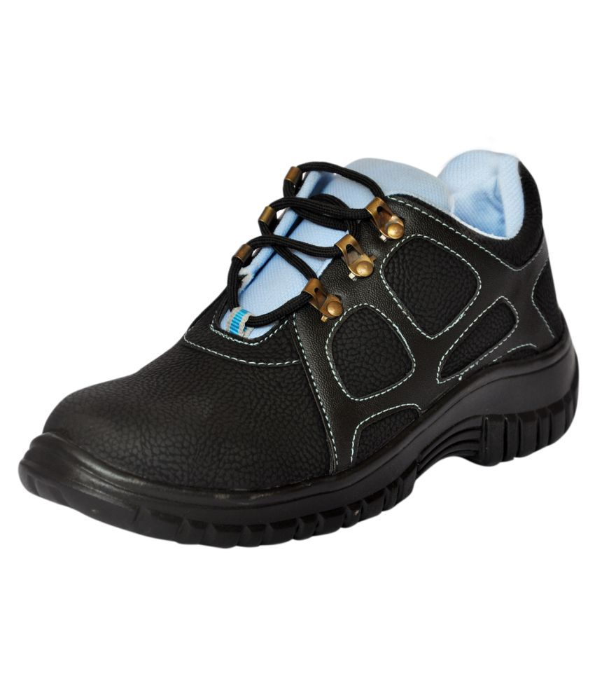 add5ced091b1 Buy Fashion Tree Low Ankle Black Safety Shoes Online at Low Price in India  - Snapdeal