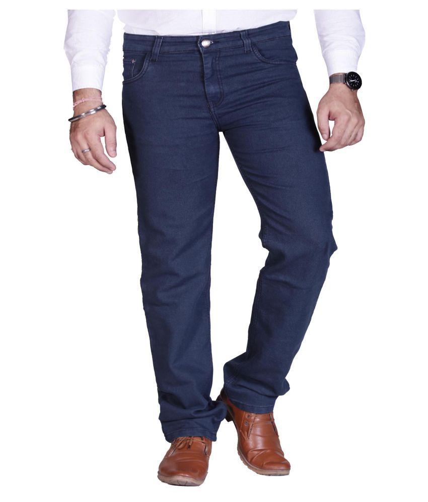 PRANKSTER Grey Straight Jeans