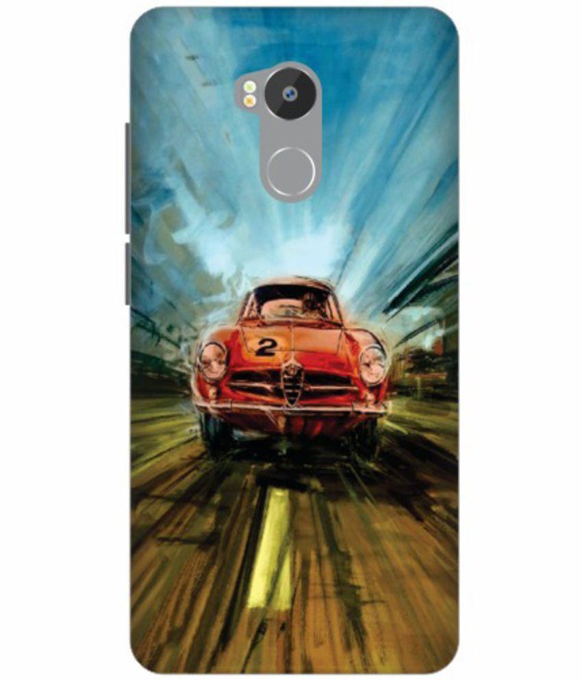 Xiaomi Redmi 4 3D Back Covers By Printland