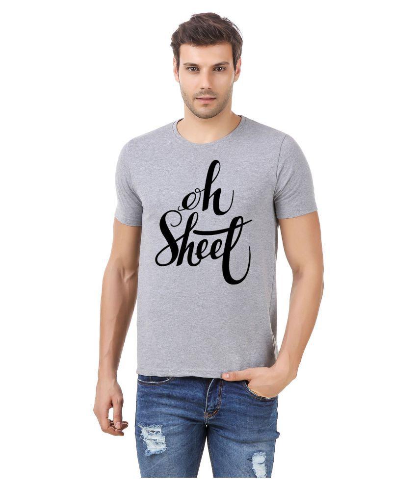 Desi Swag Grey Round T-Shirt