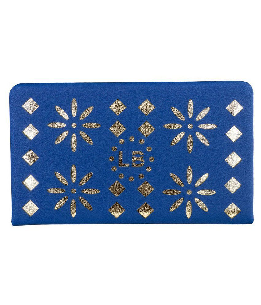 Louise Belgium Blue Regular Wallet