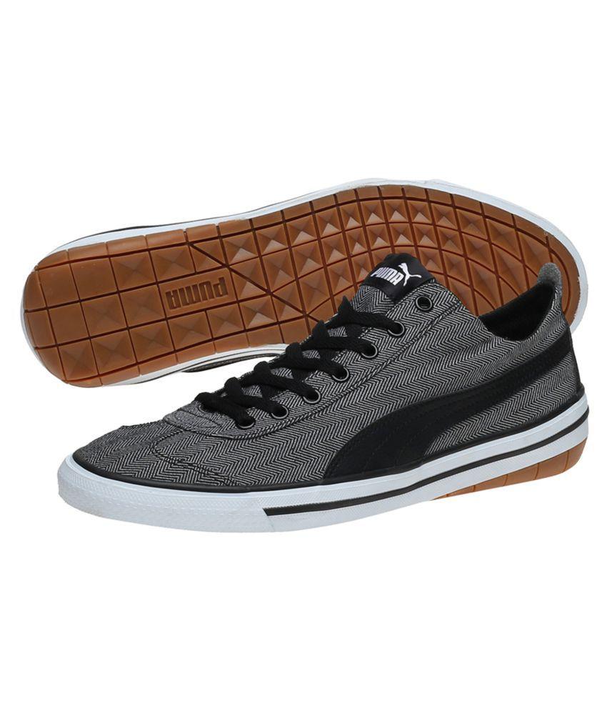 Puma 917 FUN Herringbone IDP Sneakers Black Casual Shoes - Buy Puma ... ed774e104