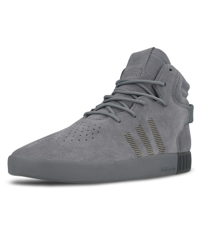 purchase cheap 83435 5b2de Adidas Tubular Invader S81796 Sneakers Gray Casual Shoes ...