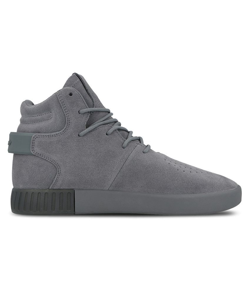 pretty nice e2431 50d7a ... Adidas Tubular Invader S81796 Sneakers Gray Casual Shoes ...