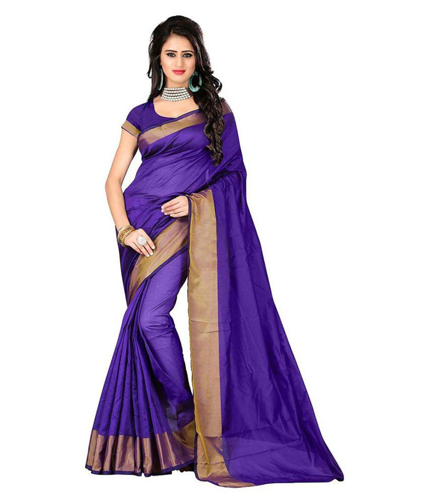 Goldy Designers Multicoloured Cotton Silk Saree