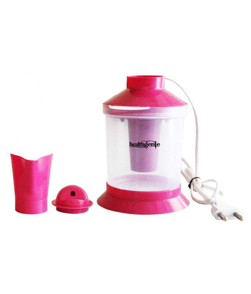 Healthgenie 2in1 Steam Vaporizer-Pink