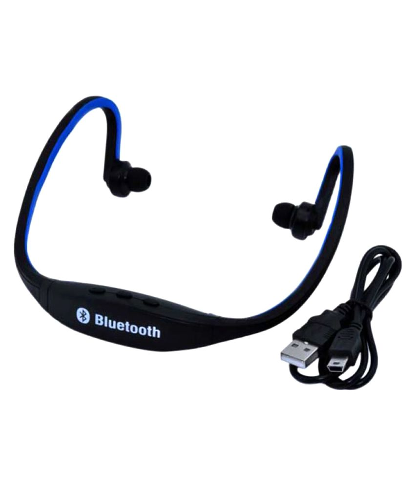 Heavyloot BS19 Bluetooth Headset - Black