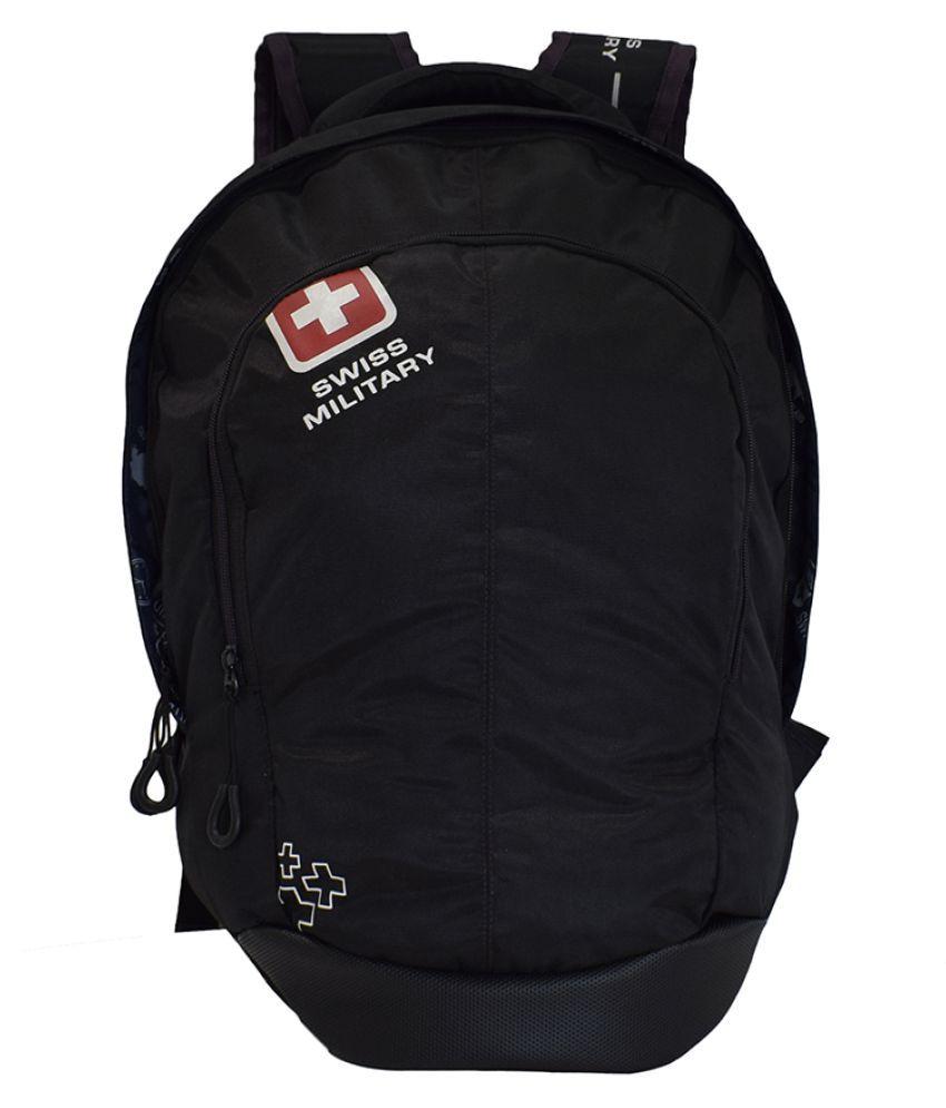 Swiss Military Black LBP59 Backpack