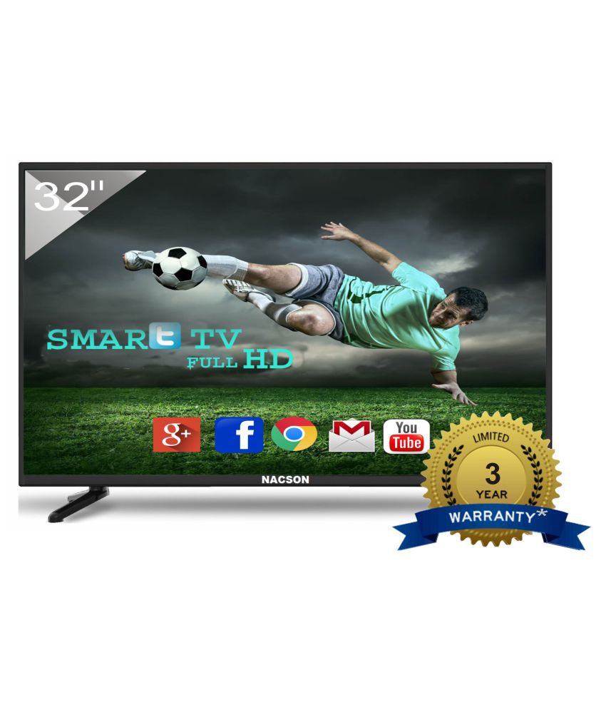 Nacson NS8016Smart 80 cm ( 32 ) Smart HD Ready (HDR) LED Television With 1+2 Year Extended Warranty