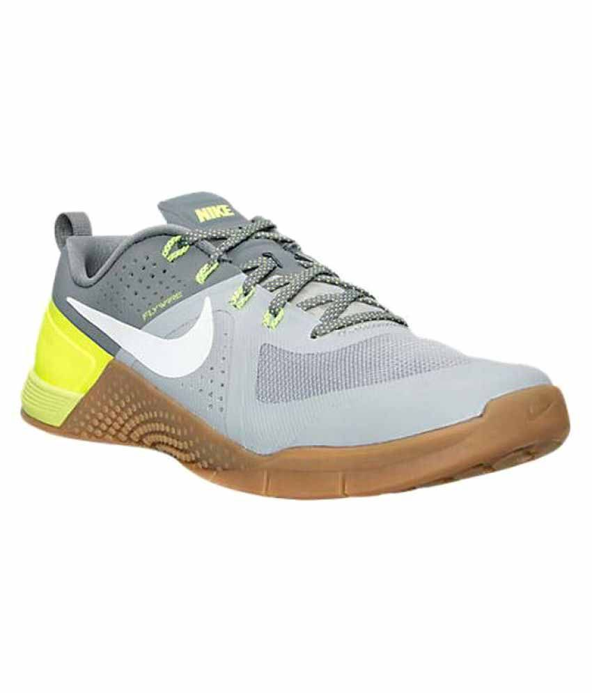 size 40 43717 2b0ea Nike Metcon 2 Gray Training Shoes - Buy Nike Metcon 2 Gray Training Shoes  Online at Best Prices in India on Snapdeal