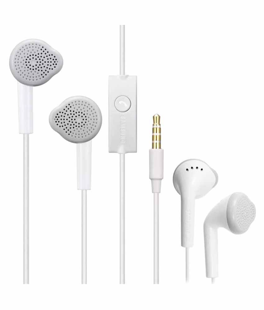 Samsung J7 Prime In Ear Wired Earphones With Mic ...