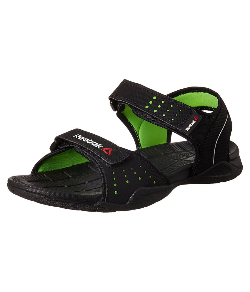 6adb025d Reebok Z CONNECT BD3901 Black Floater Sandals - Buy Reebok Z CONNECT BD3901  Black Floater Sandals Online at Best Prices in India on Snapdeal
