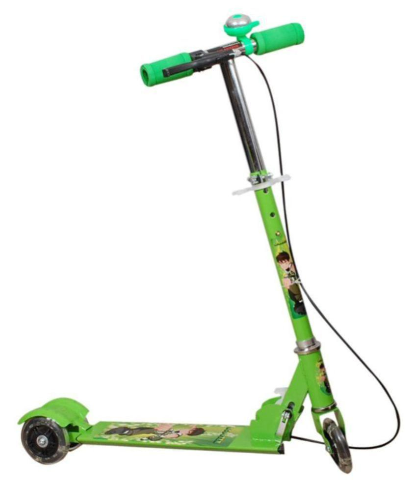 ad271a9c630 Param Kids Foldable 3 Wheeler Cycle Height Adjustable with Hand break and  Bell-Green - Buy Param Kids Foldable 3 Wheeler Cycle Height Adjustable with  Hand ...