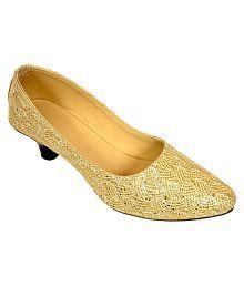Altek Gold Ballerinas