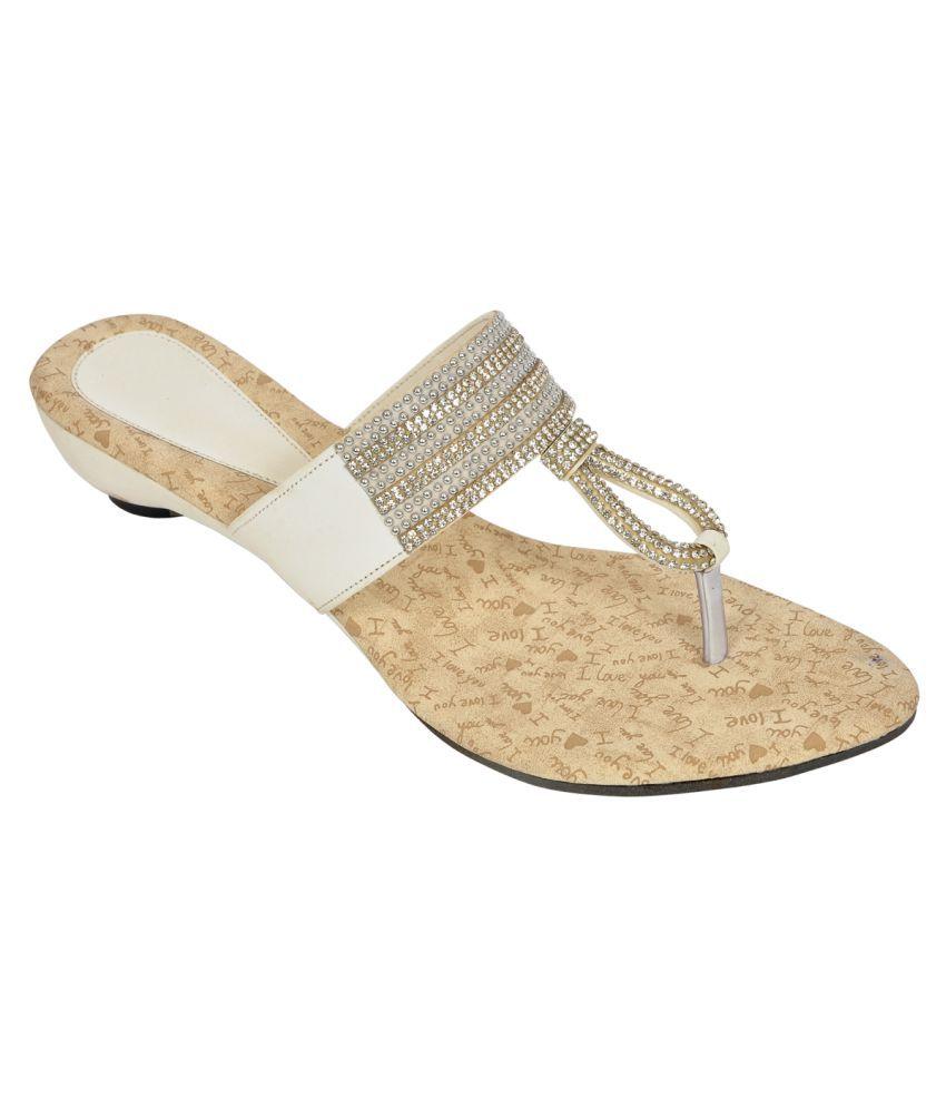 1c8e30223c6 Altek White Wedges Heels