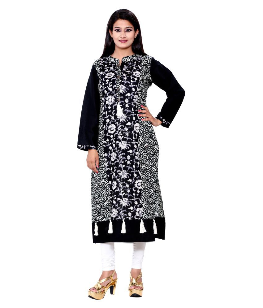 Pinky Pari Multicoloured Cotton Straight Kurti