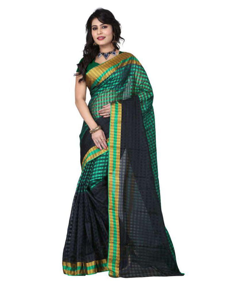 Urban Naari Multicoloured Cotton Silk Saree